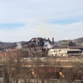 Partial view of heavy industry along the Monongahela river.