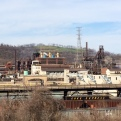 Another segment of heavy industry along the Mon ... Despite the resemblance, Academy-Award vehicle and Robert DeNiro showpiece The Deer Hunter (directed by Michael Cimino) was set in Clairton, Pa., a few miles down the road.