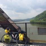 Crossing the Youghiogheny.