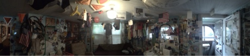 Panorama of Bike House.