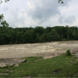The mighty Yough in Ohiopyle, 3/4 view.
