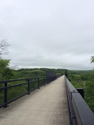 Salisbury Viaduct, 1,908' long, between Garrett and Meyersdale.