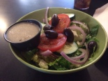Main Street Cafe's Greek salad. It was great.