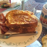 Farewell French toast. I'll miss you, apartment, with all your 1990s amenities.