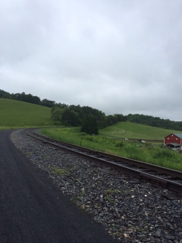 Helmsetter's Horseshoe curve was so steep patrons on either end of the train could see one another while the locomotive negotiated the turn.