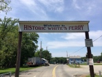 Welcome to White's Ferry. It's historic.