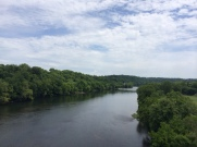 At 330 million years, only the Nile's older. I crossed over just outside Radford, Va.