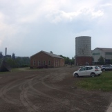 Homestead's Pump House access. There's lots of heavy equipment in the area.