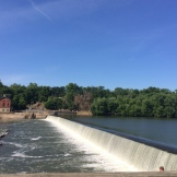 The C&O company built a series of dams to ensure adequate water through the canal's 184.5-mile run.