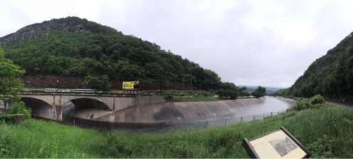 Coming into Cumberland, this 1000-foot gap between mountains welcomes you.