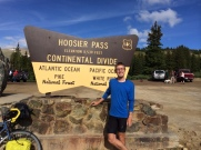 The highest point on the TransAm, and the first time I cross the continental divide.