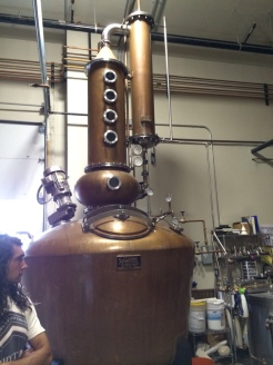 Breckridge Distilling's still.