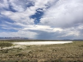 Dry lake.