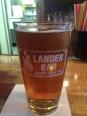 Lander Bar's IPA.