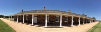 Fort Larned visitor's center.