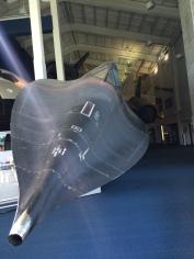 Cosmosphere's SR-71.