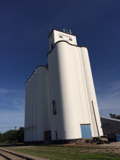 Sterling grain elevator.