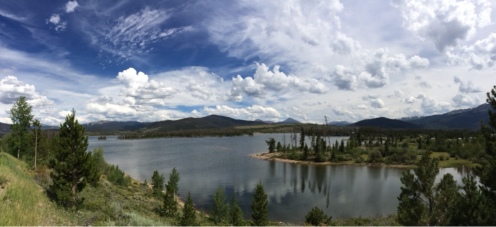 Dillon Reservoir.