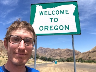 Today my tour across America turned into a tour across Oregon.