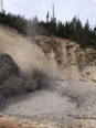 Mud volcano.
