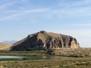 The Lewis and Clark expedition used this as a landmark, as have native people for thousands of years before them.