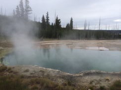 West Thumb Hot Pools.