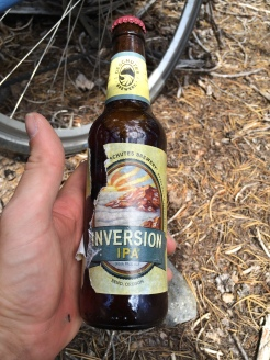 Spencer gave me this Deschutes brew at the top of McKenzie Pass.